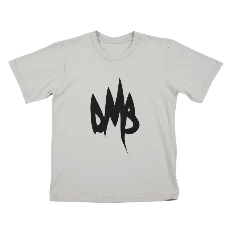DMB Logotype Black Kids T-Shirt by RunDMB's Artist Shop