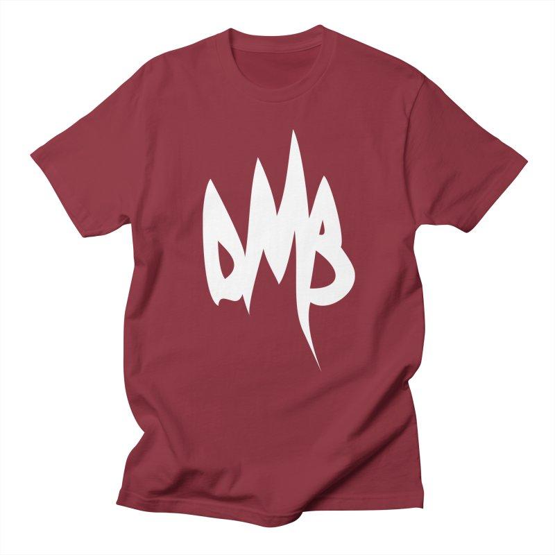 DMB Logotype White Men's T-shirt by RunDMB's Artist Shop