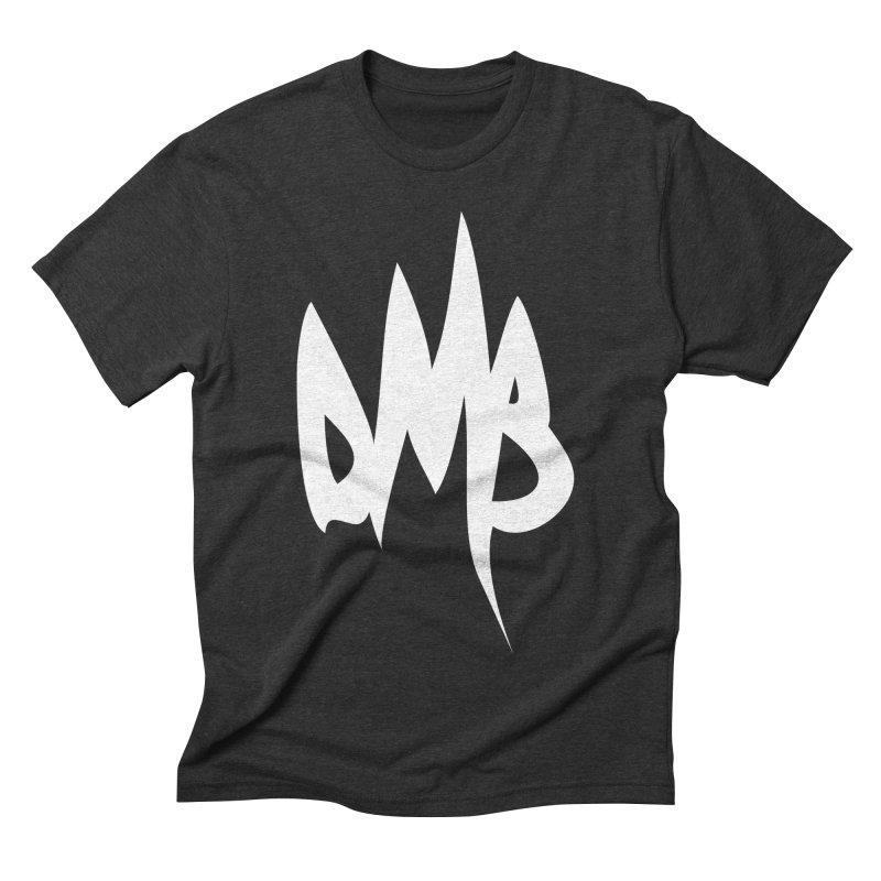 DMB Logotype White Men's Triblend T-shirt by RunDMB's Artist Shop