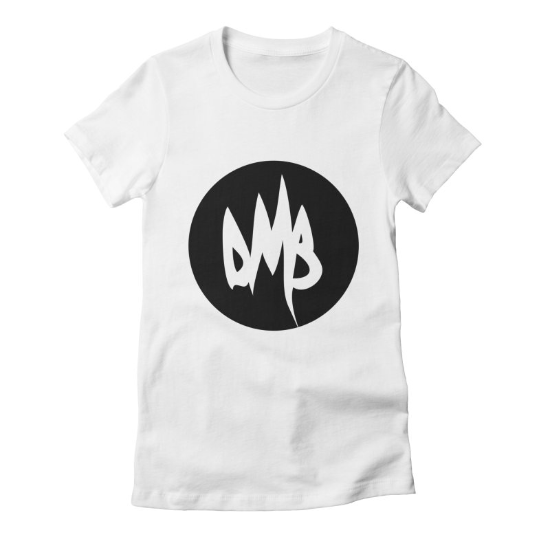 DMB Black Women's Fitted T-Shirt by RunDMB's Artist Shop