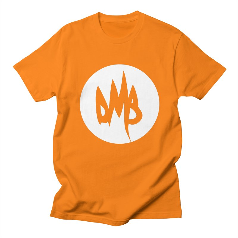 DMB White Men's T-shirt by RunDMB's Artist Shop