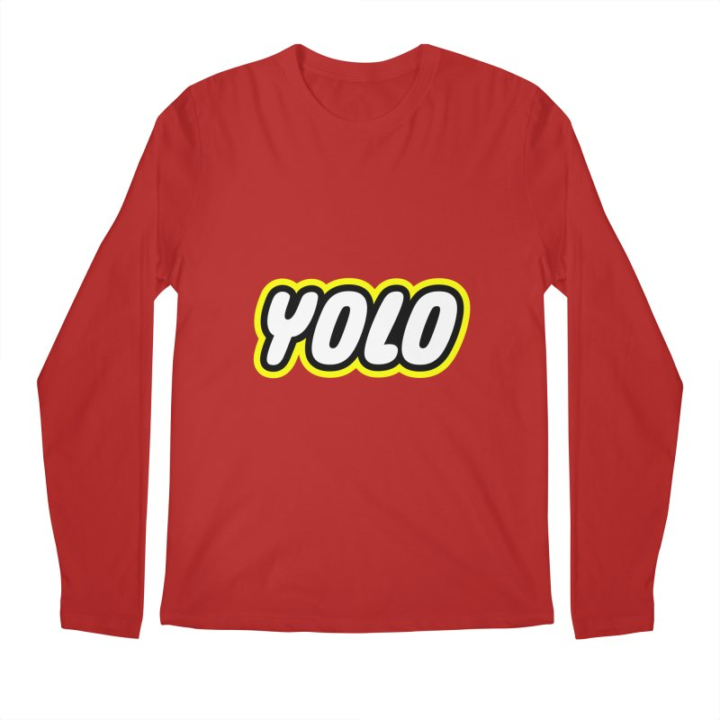 YOLO Men's Longsleeve T-Shirt by runeer's Artist Shop