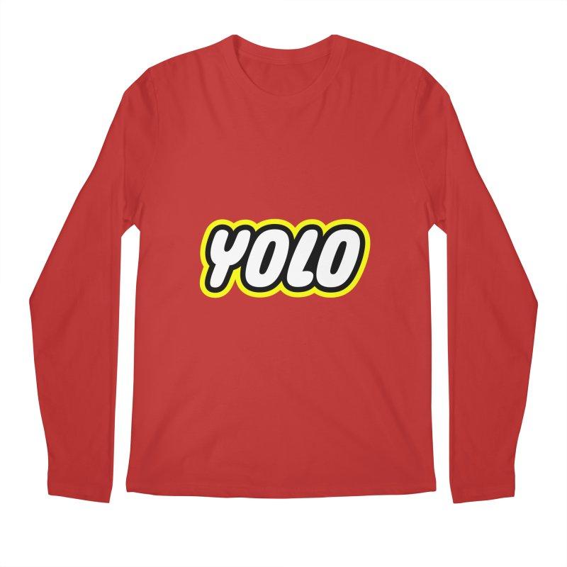 YOLO Men's Longsleeve T-Shirt by runeer's Artist Shop