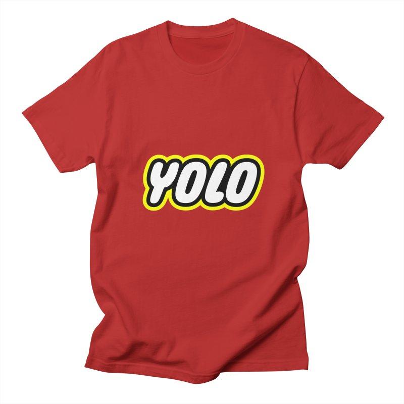 YOLO Men's T-shirt by runeer's Artist Shop