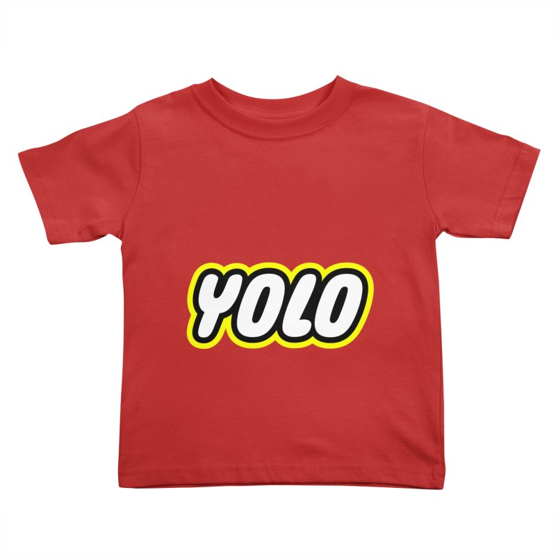 YOLO Kids Toddler T-Shirt by runeer's Artist Shop