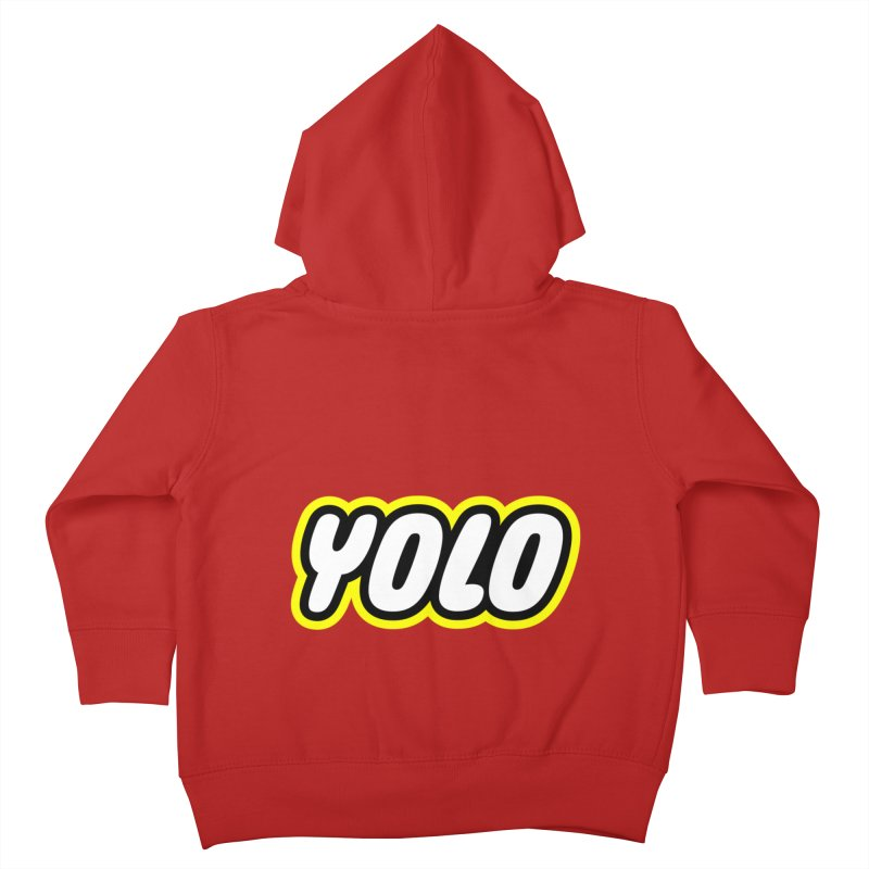 YOLO Kids Toddler Zip-Up Hoody by runeer's Artist Shop