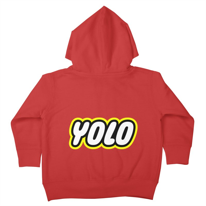 YOLO Kids Toddler Zip-Up Hoody by runeer's Artist Shop