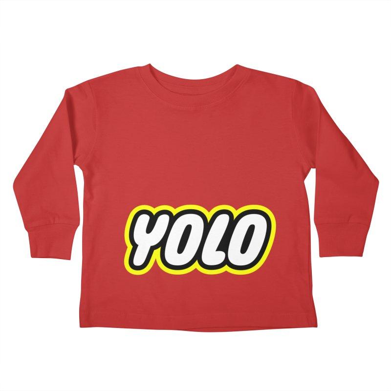 YOLO Kids Toddler Longsleeve T-Shirt by runeer's Artist Shop