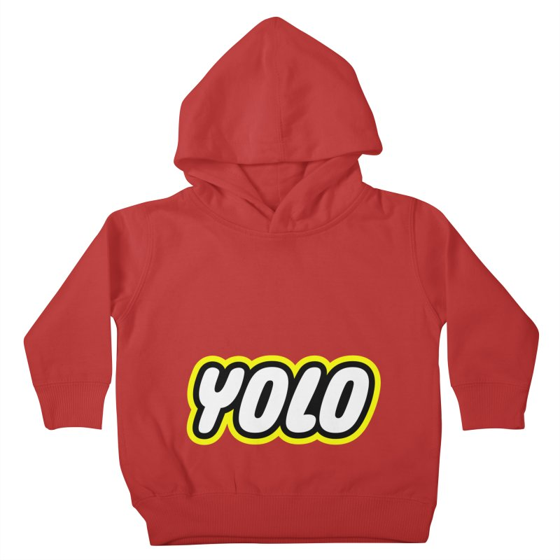 YOLO Kids Toddler Pullover Hoody by runeer's Artist Shop