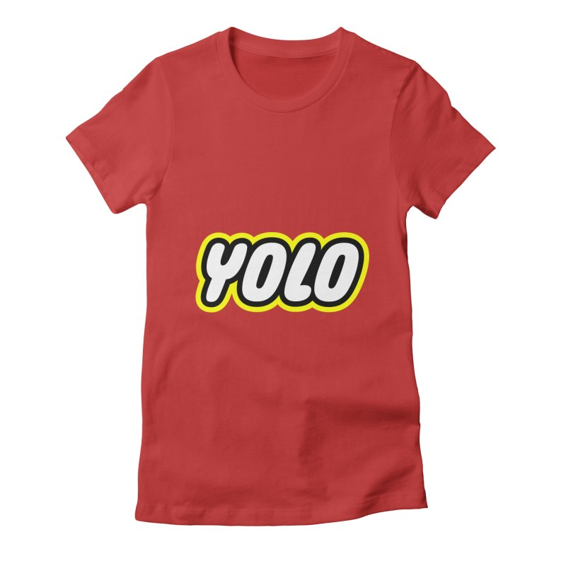 YOLO Women's Fitted T-Shirt by runeer's Artist Shop