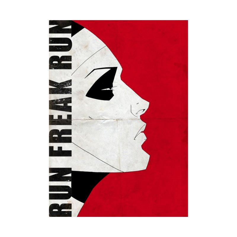 Two - Red Women's V-Neck by Run Freak Run shop