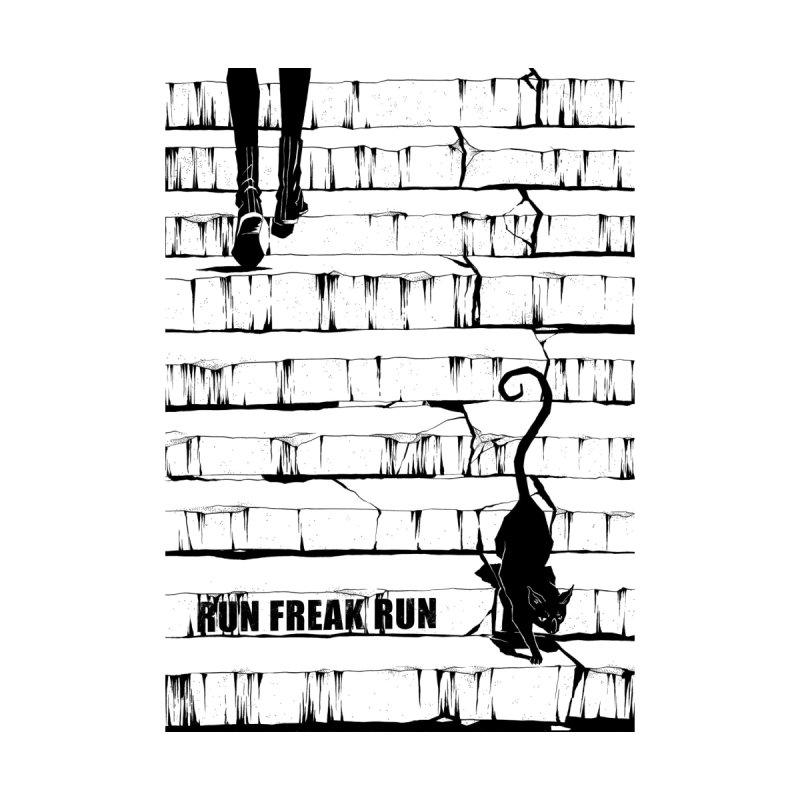 The cat Home Fine Art Print by Run Freak Run shop
