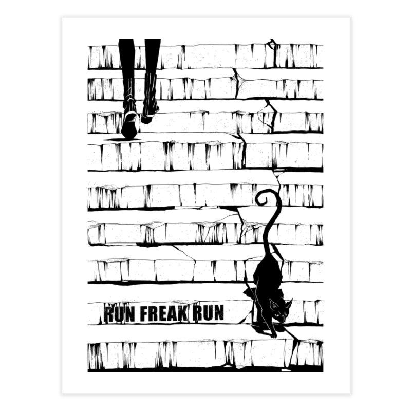 The cat Home  by Run Freak Run shop