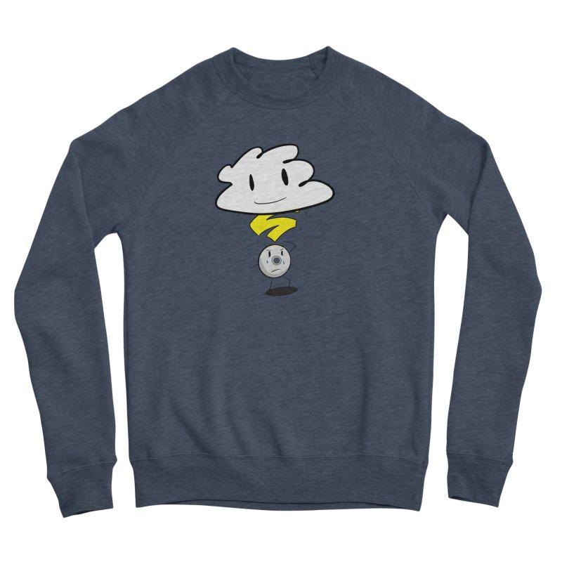 Stadia Storm Men's Sponge Fleece Sweatshirt by runjumpstomp's Artist Shop