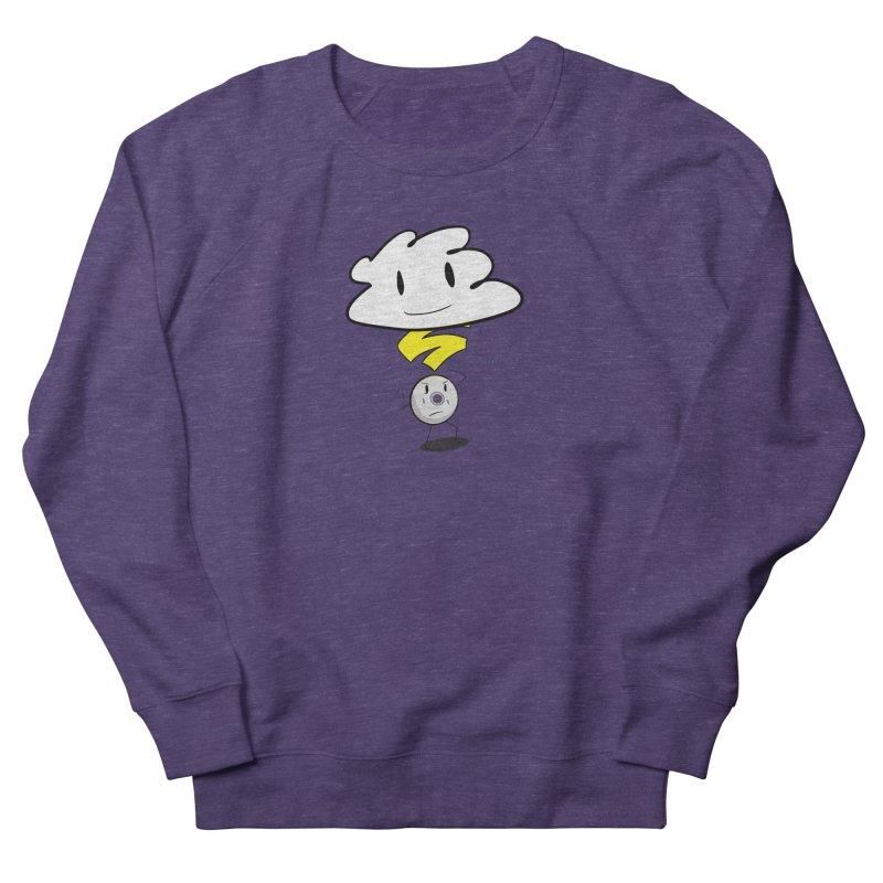 Stadia Storm Men's French Terry Sweatshirt by runjumpstomp's Artist Shop