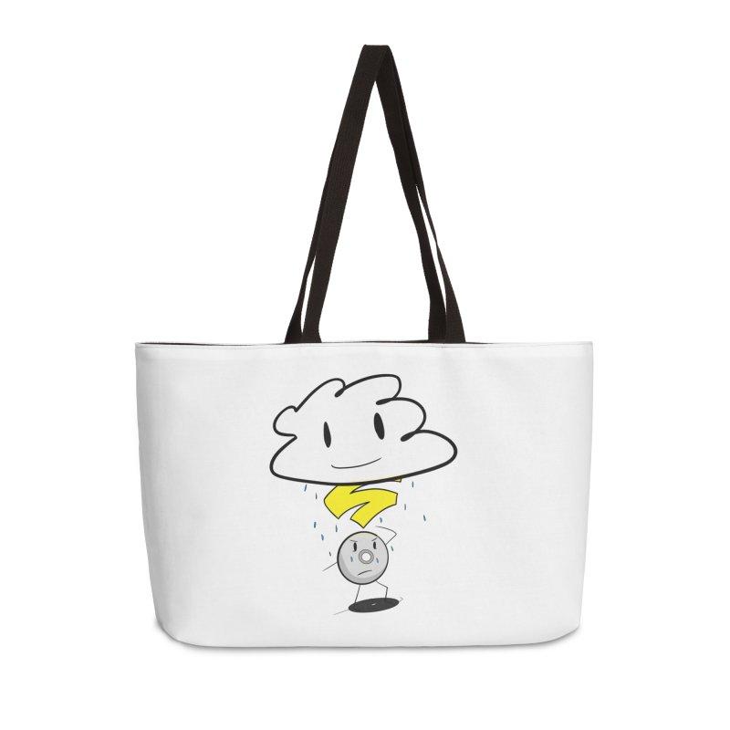 Stadia Storm Accessories Weekender Bag Bag by runjumpstomp's Artist Shop