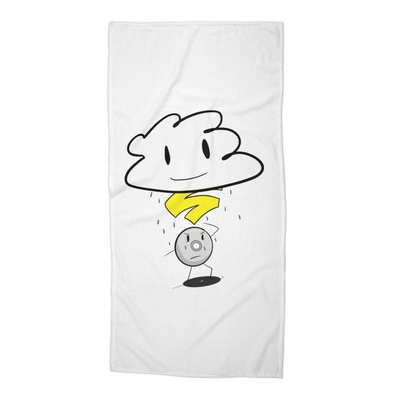 Stadia Storm Accessories Beach Towel by runjumpstomp's Artist Shop