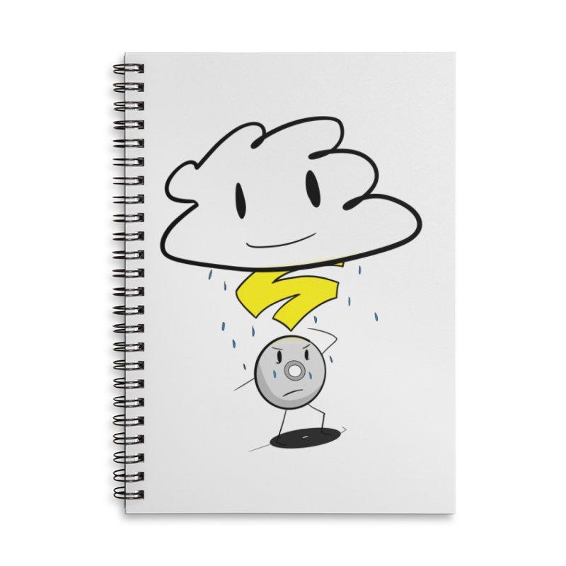 Stadia Storm Accessories Lined Spiral Notebook by runjumpstomp's Artist Shop