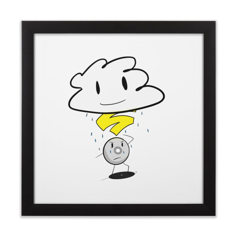 Stadia Storm Home Framed Fine Art Print by runjumpstomp's Artist Shop