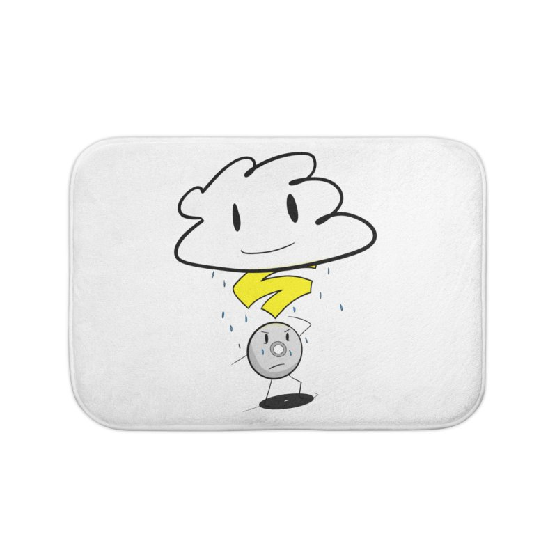 Stadia Storm Home Bath Mat by runjumpstomp's Artist Shop