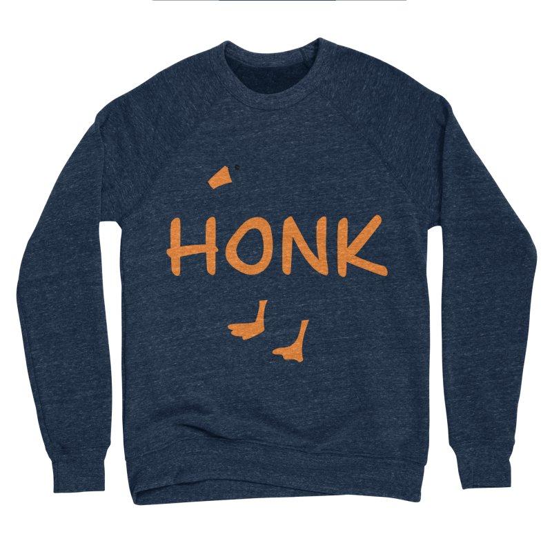 Honk Men's Sponge Fleece Sweatshirt by runjumpstomp's Artist Shop