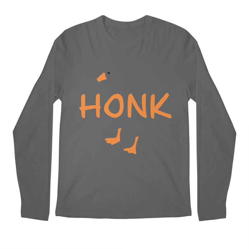 Honk Men's Regular Longsleeve T-Shirt by runjumpstomp's Artist Shop