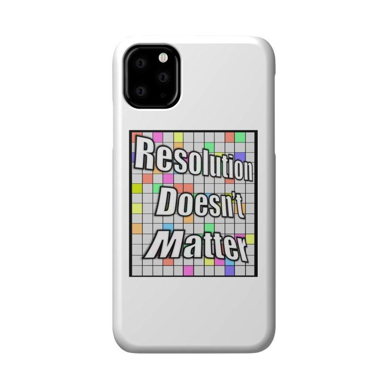 Resolution Doesn't Matter Accessories Phone Case by runjumpstomp's Artist Shop