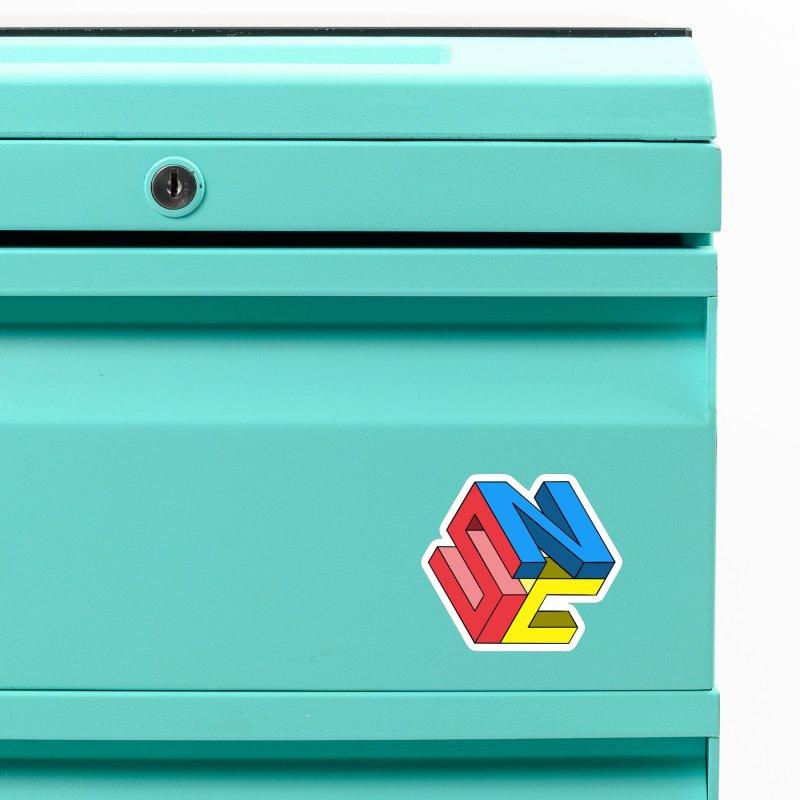 Nintendo Switch Craft 3D Logo Accessories Magnet by runjumpstomp's Artist Shop