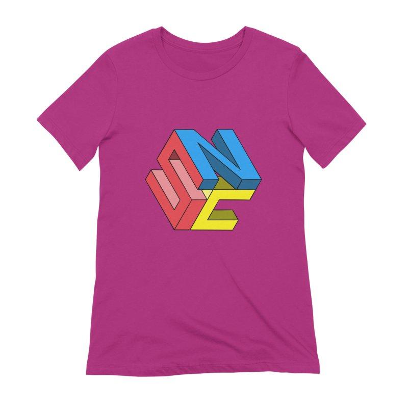 Nintendo Switch Craft 3D Logo Women's Extra Soft T-Shirt by runjumpstomp's Artist Shop