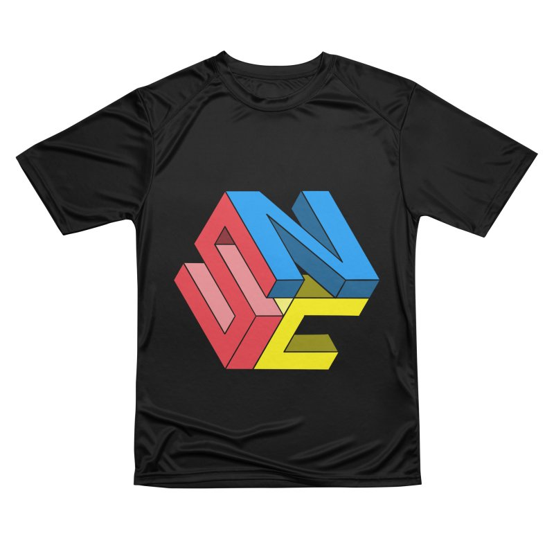 Nintendo Switch Craft 3D Logo Men's Performance T-Shirt by runjumpstomp's Artist Shop