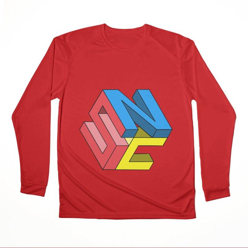Nintendo Switch Craft 3D Logo Men's Performance Longsleeve T-Shirt by runjumpstomp's Artist Shop