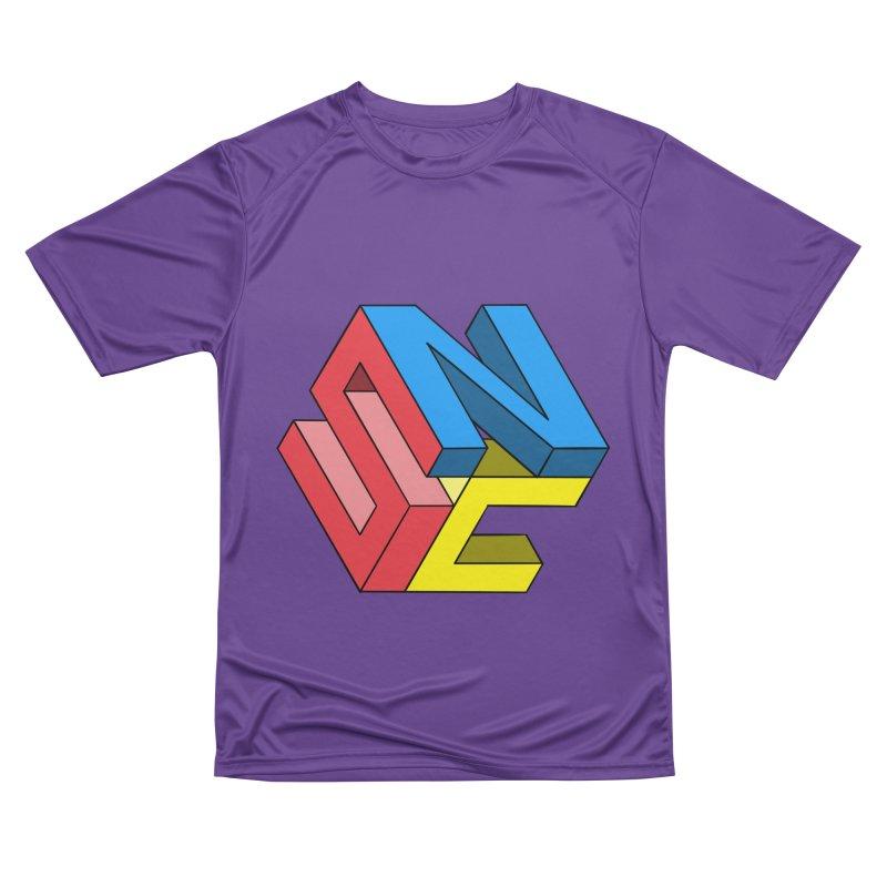 Nintendo Switch Craft 3D Logo Women's Performance Unisex T-Shirt by runjumpstomp's Artist Shop