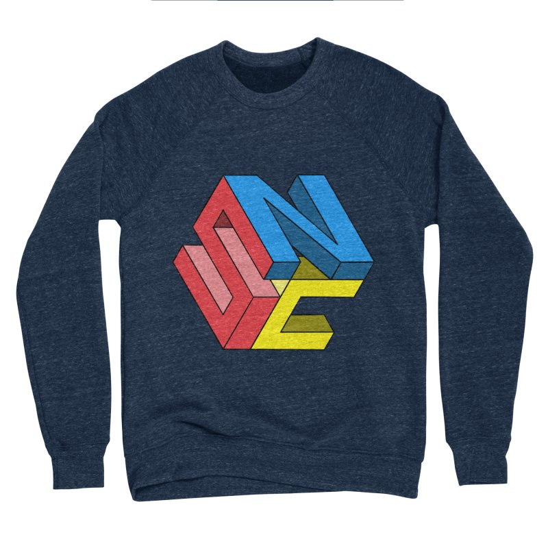 Nintendo Switch Craft 3D Logo Men's Sponge Fleece Sweatshirt by runjumpstomp's Artist Shop