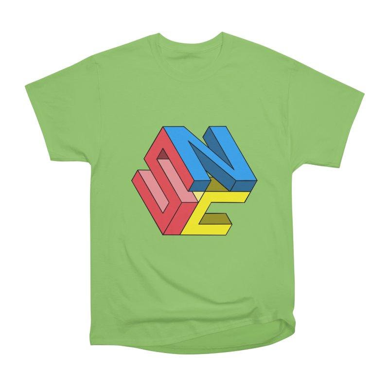 Nintendo Switch Craft 3D Logo Men's Heavyweight T-Shirt by runjumpstomp's Artist Shop