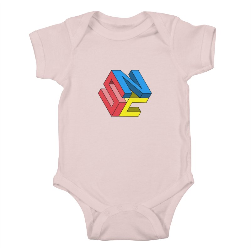 Nintendo Switch Craft 3D Logo Kids Baby Bodysuit by runjumpstomp's Artist Shop