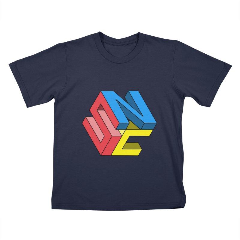 Nintendo Switch Craft 3D Logo Kids T-Shirt by runjumpstomp's Artist Shop