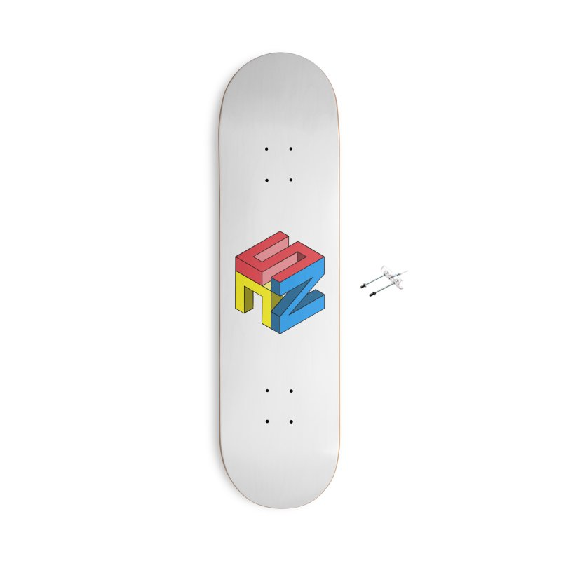Nintendo Switch Craft 3D Logo Accessories With Hanging Hardware Skateboard by runjumpstomp's Artist Shop