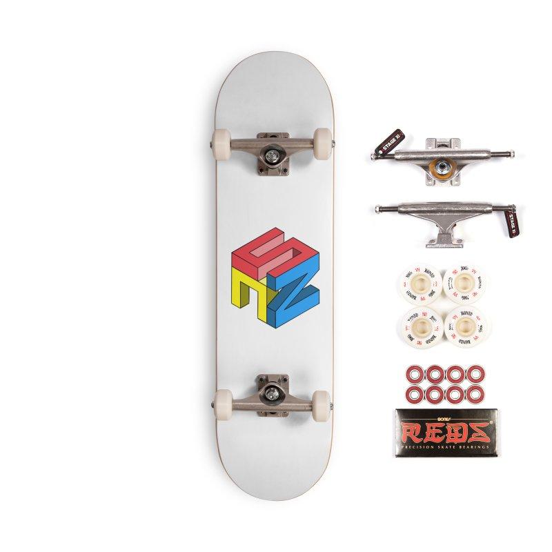 Nintendo Switch Craft 3D Logo Accessories Complete - Pro Skateboard by runjumpstomp's Artist Shop