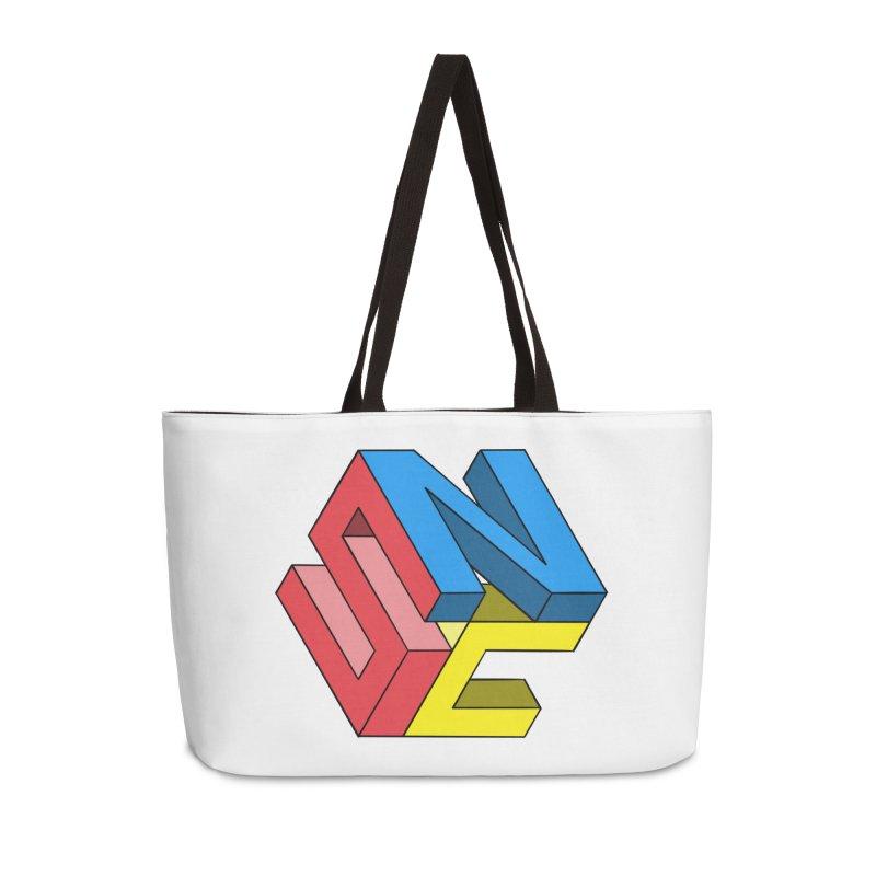 Nintendo Switch Craft 3D Logo Accessories Weekender Bag Bag by runjumpstomp's Artist Shop