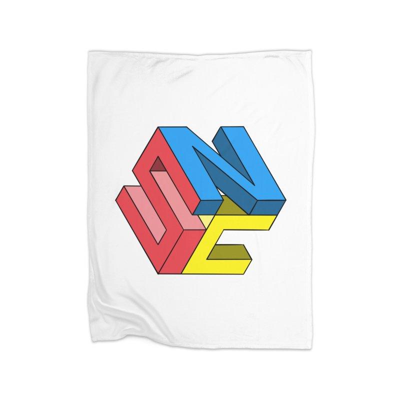 Nintendo Switch Craft 3D Logo Home Fleece Blanket Blanket by runjumpstomp's Artist Shop