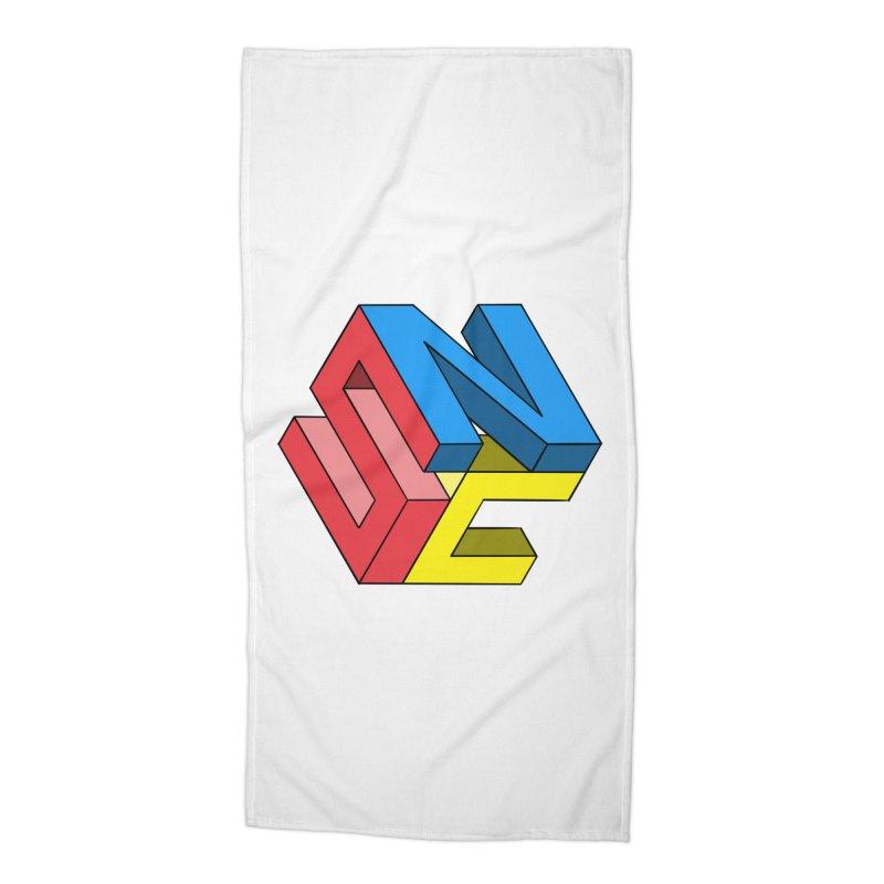 Nintendo Switch Craft 3D Logo Accessories Beach Towel by runjumpstomp's Artist Shop