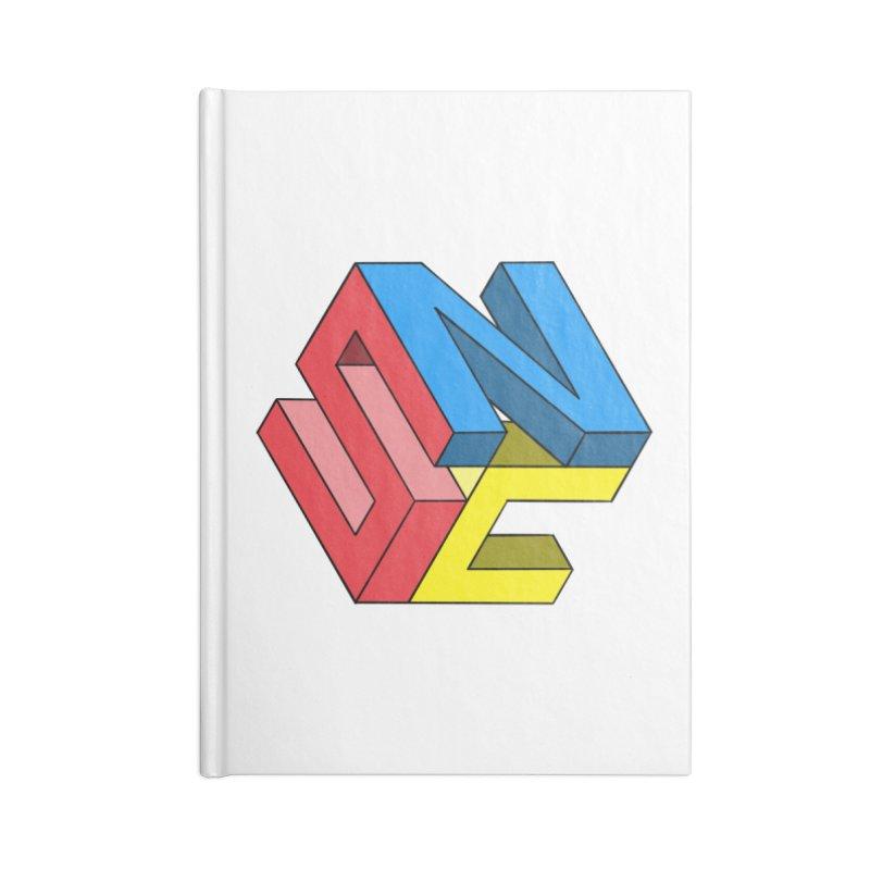 Nintendo Switch Craft 3D Logo Accessories Blank Journal Notebook by runjumpstomp's Artist Shop