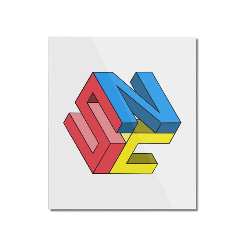 Nintendo Switch Craft 3D Logo Home Mounted Acrylic Print by runjumpstomp's Artist Shop
