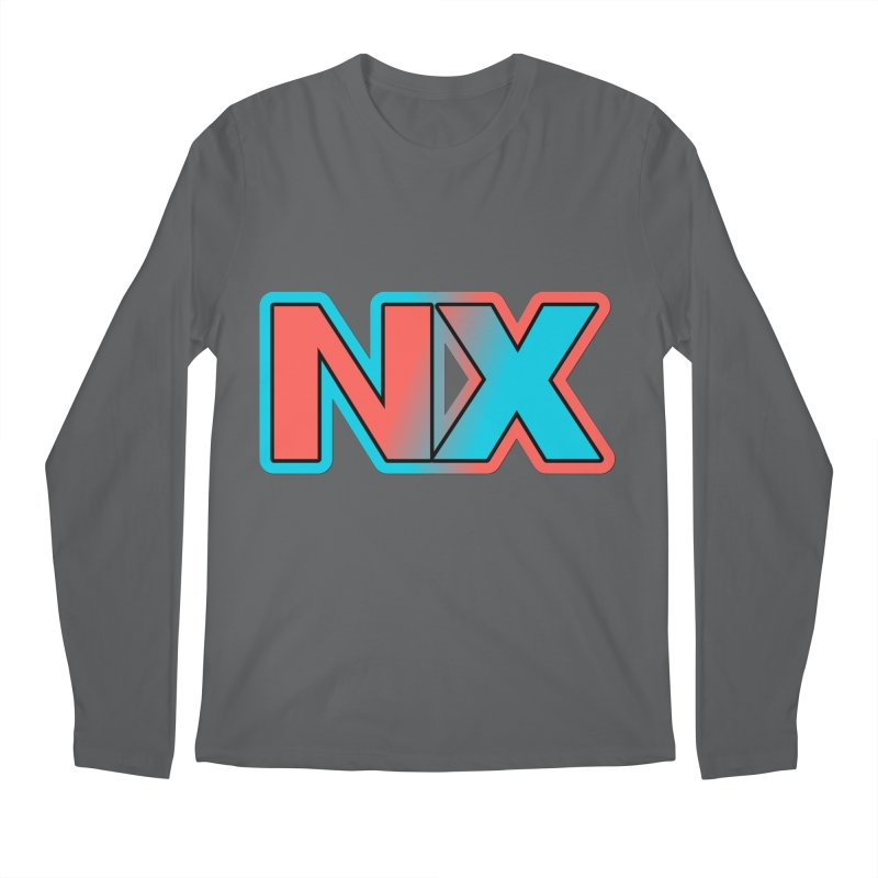 NX Men's Regular Longsleeve T-Shirt by runjumpstomp's Artist Shop