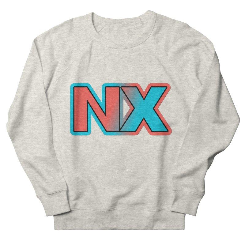 NX Men's French Terry Sweatshirt by runjumpstomp's Artist Shop