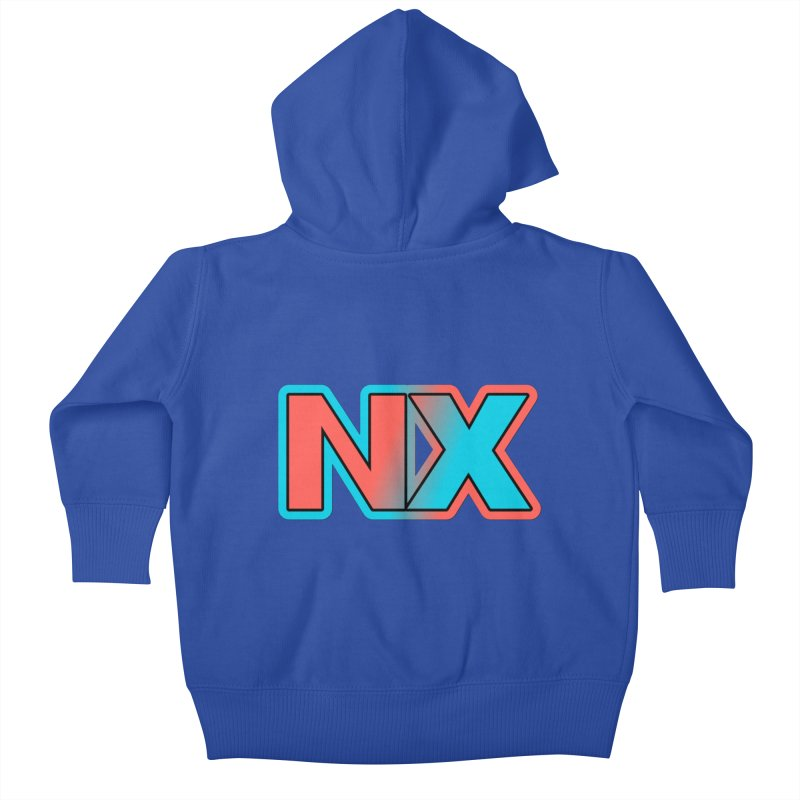 NX Kids Baby Zip-Up Hoody by runjumpstomp's Artist Shop