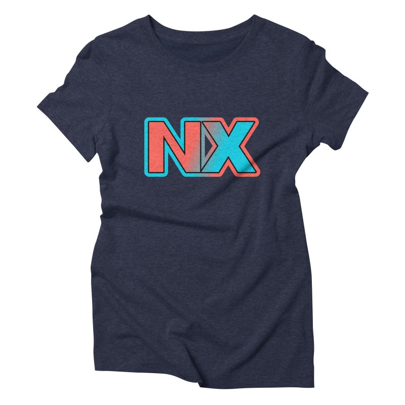 NX Women's Triblend T-Shirt by runjumpstomp's Artist Shop