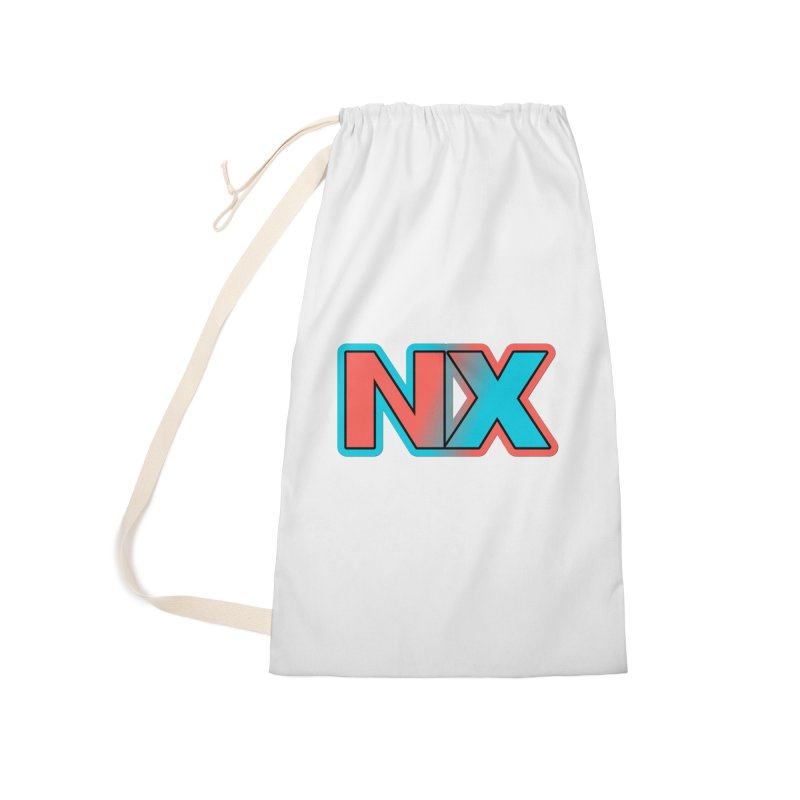 NX Accessories Laundry Bag Bag by runjumpstomp's Artist Shop