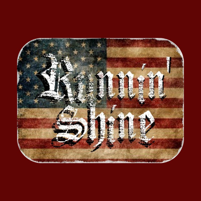 Runnin' Shine Flag by Runnin' Shine Store