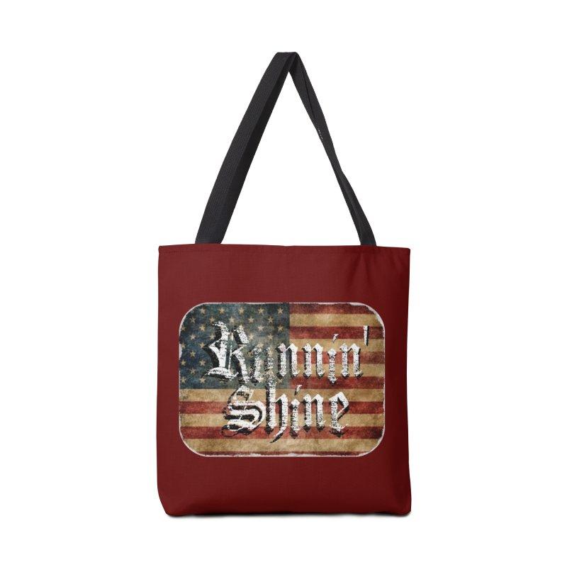 Runnin' Shine Flag Accessories Bag by Runnin' Shine Store